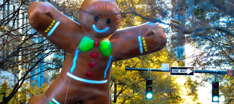 Holiday Bowl Parade Float