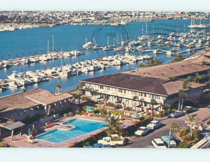 Hotels are being developed in San Diego, with pools, next to the docks
