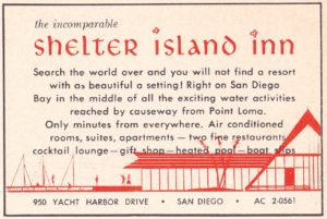 Promotional item for the Shelter Island Inn