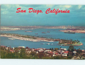 San Diego, California develops into a beautiful place.